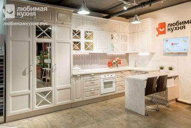 Белая кухня Коллет
