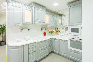 Белая кухня Тиволи