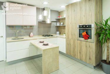 Белая кухня Панна котта