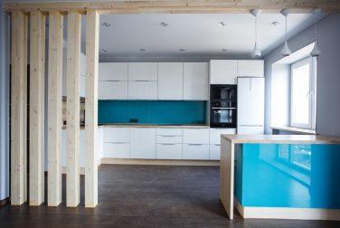 Белая кухня Кассис
